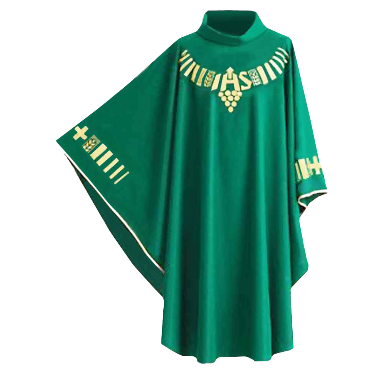A19/1141 Green Chasuble from Hayes & Finch