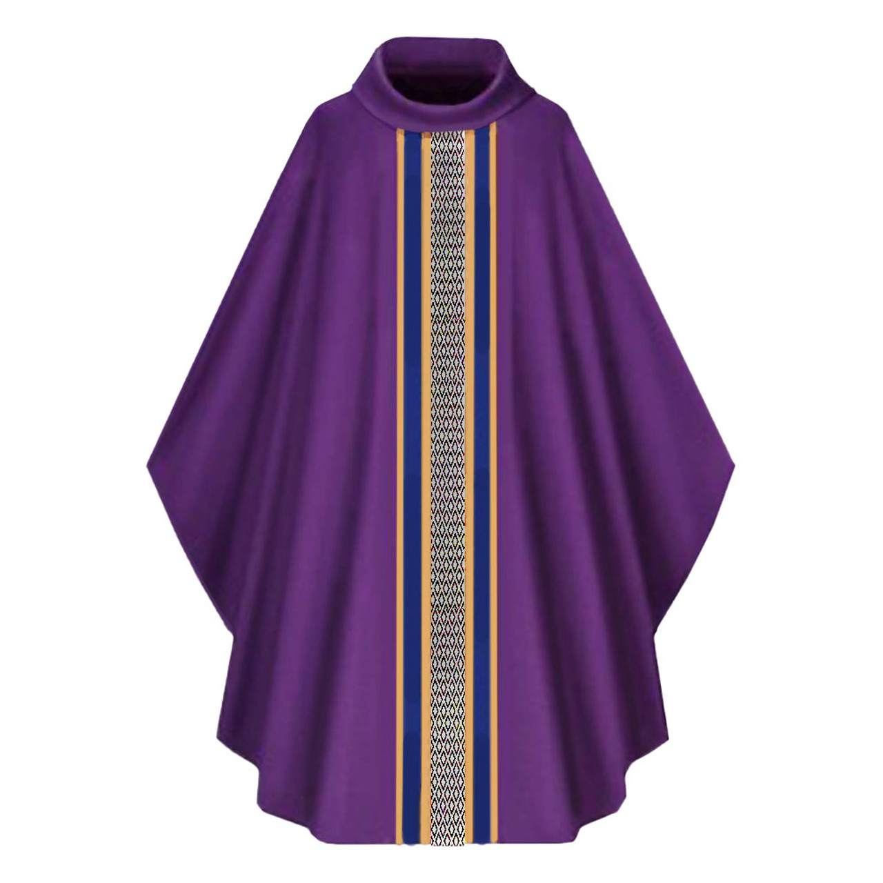 3967 Purple Chasuble in Brugia