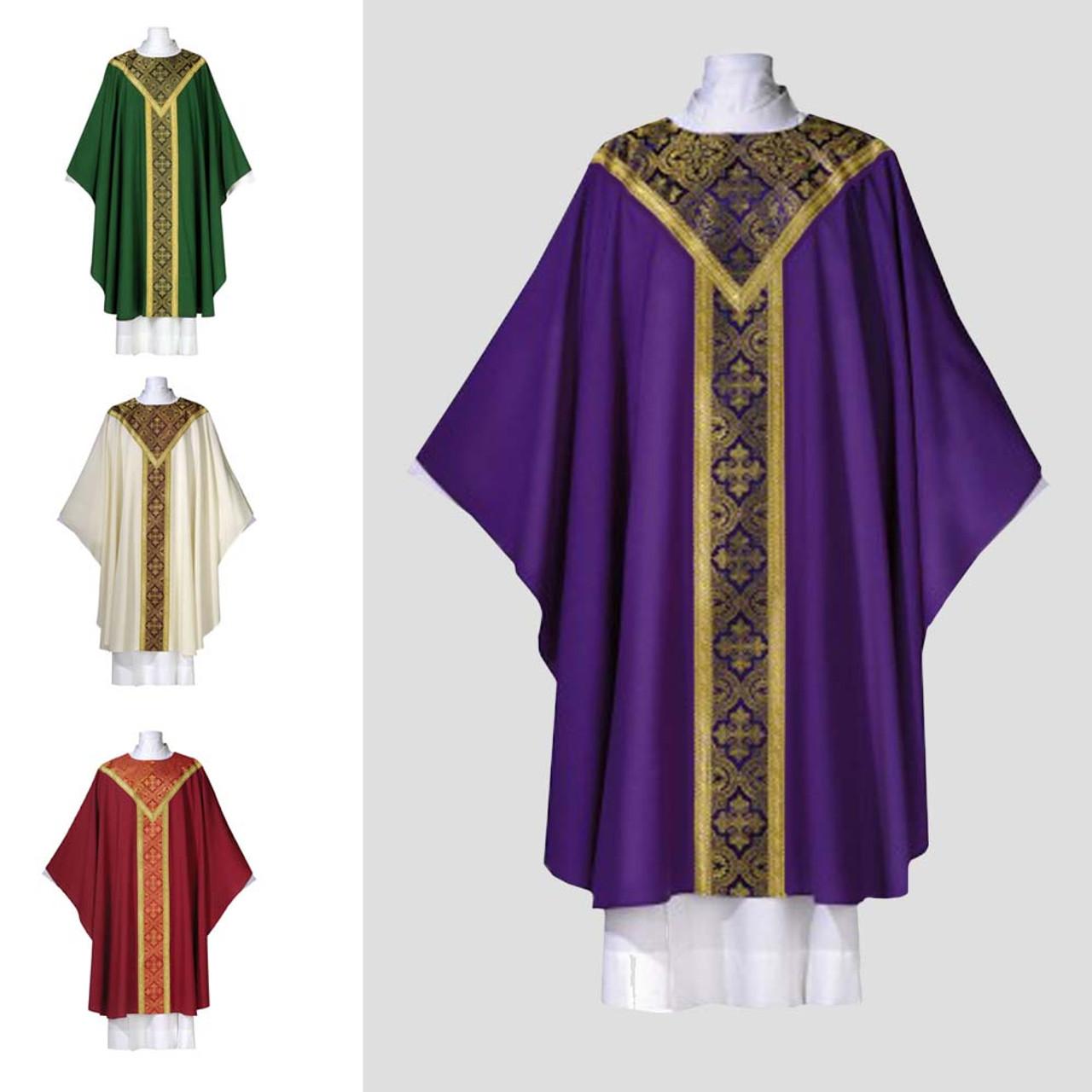 Serum Purple Chasuble Opus Fabric