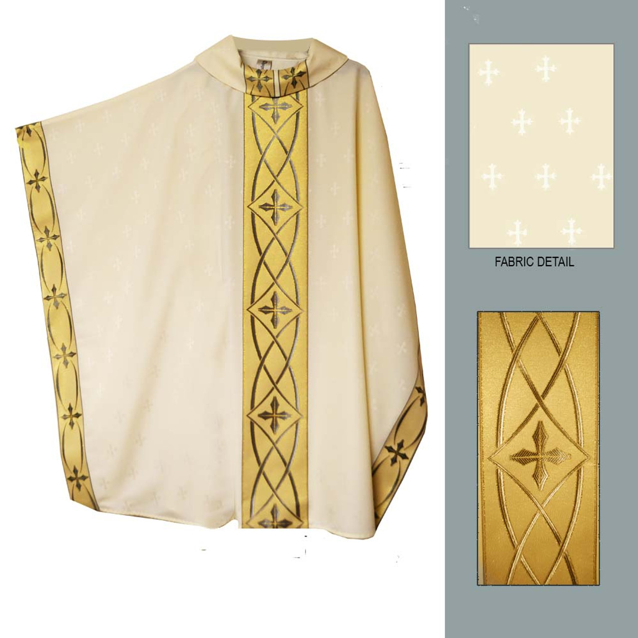 04-105 White Chasuble from Chagall