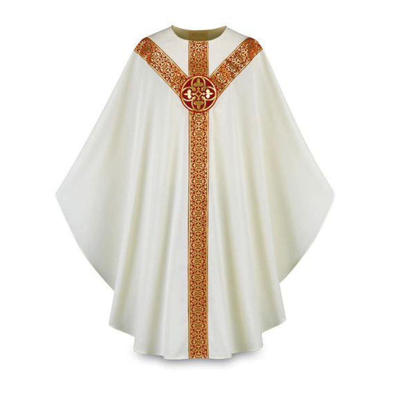 3639 Beige Chasuble in Brugia