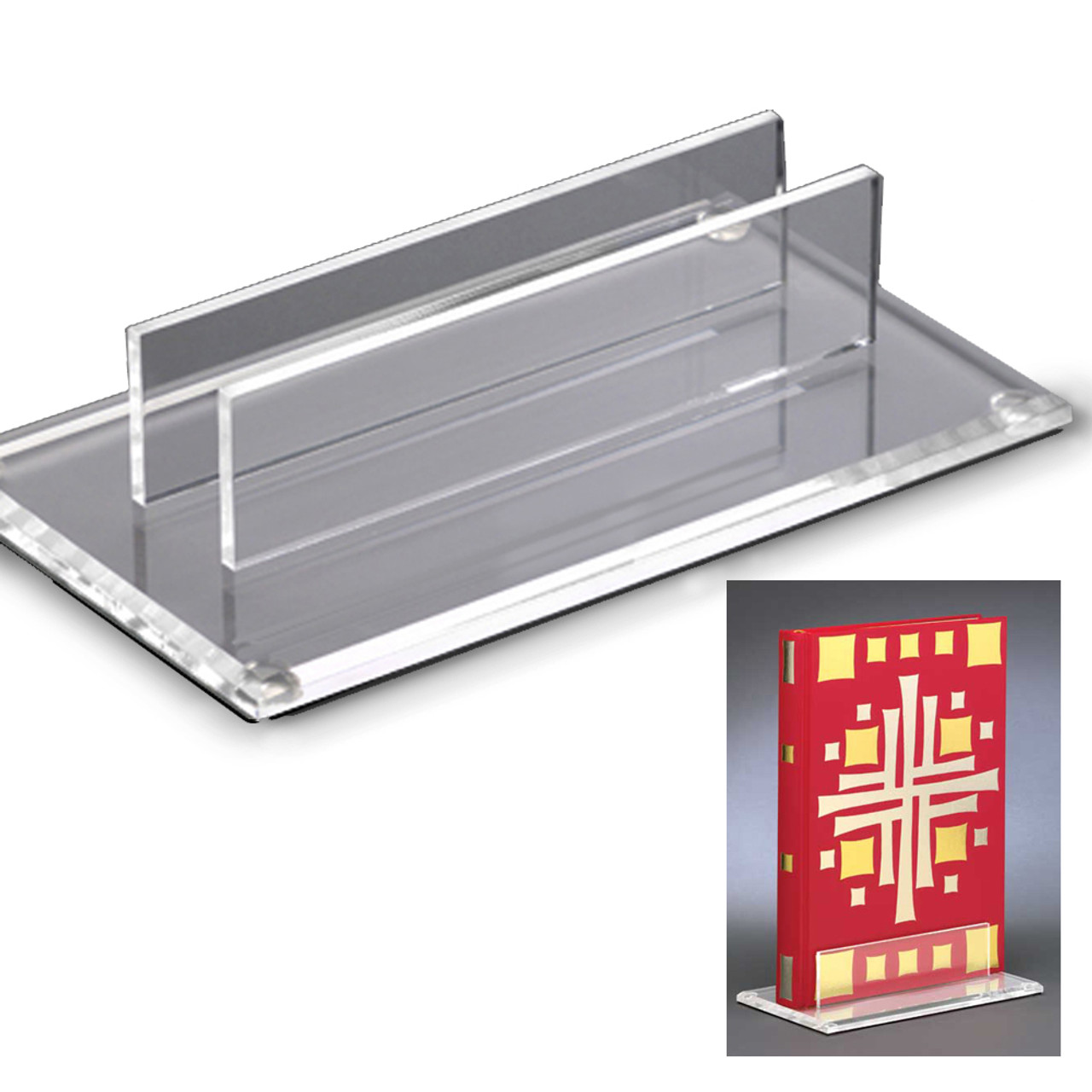 Acrylic Book of Gospels Stand