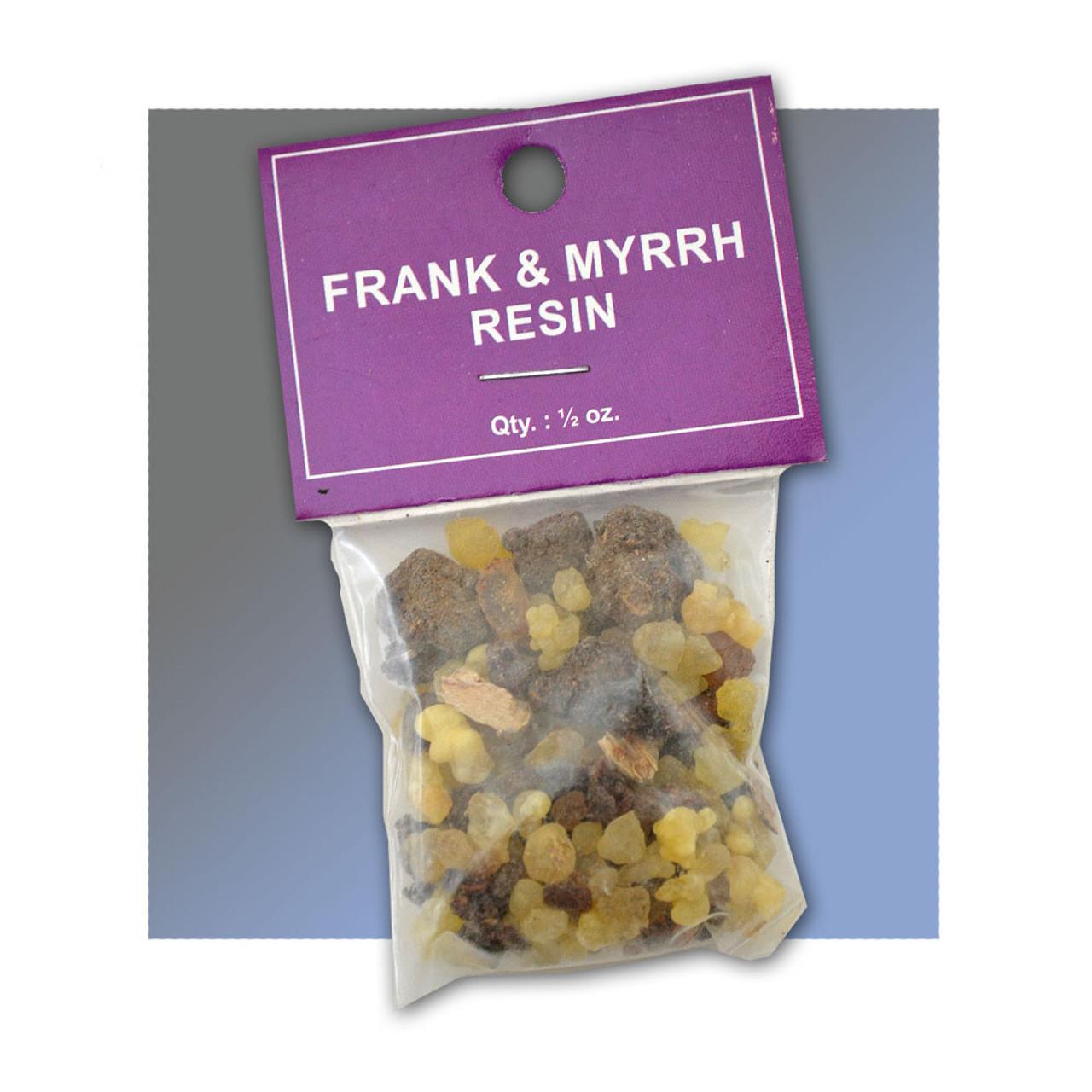 Frankincense & Myrrh Church Incense .5 OZ