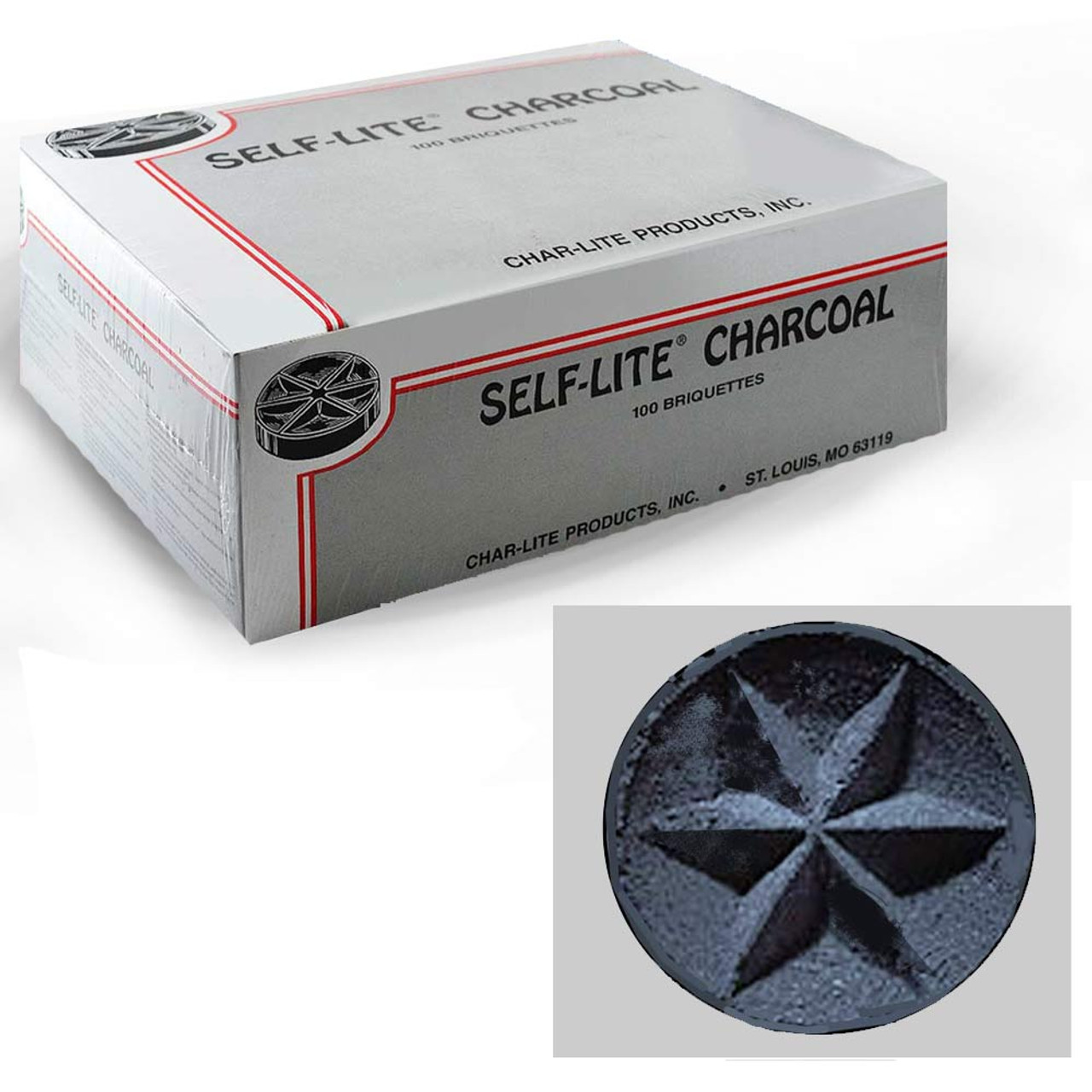 Self-Lite Charcoal for Incense 100/Box