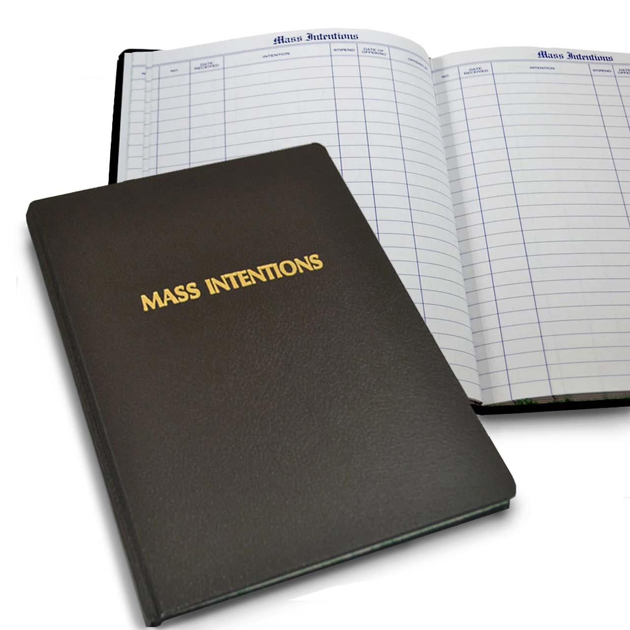 253 Mass Intention Book