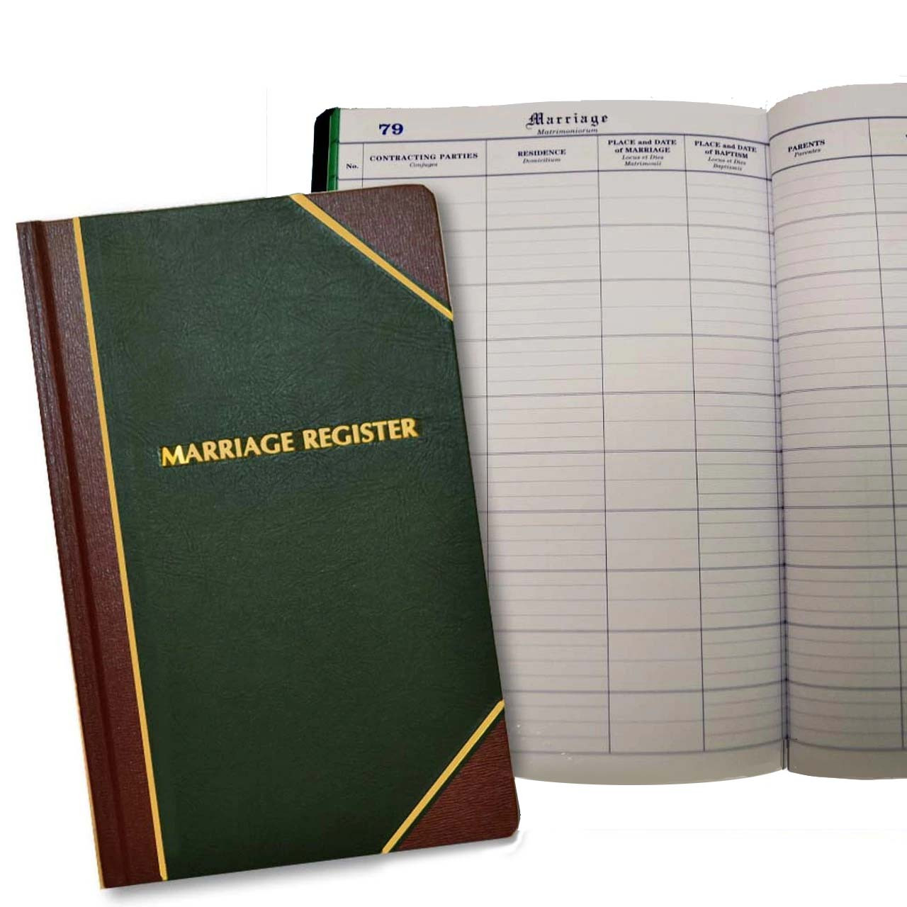 101 Marriage Register