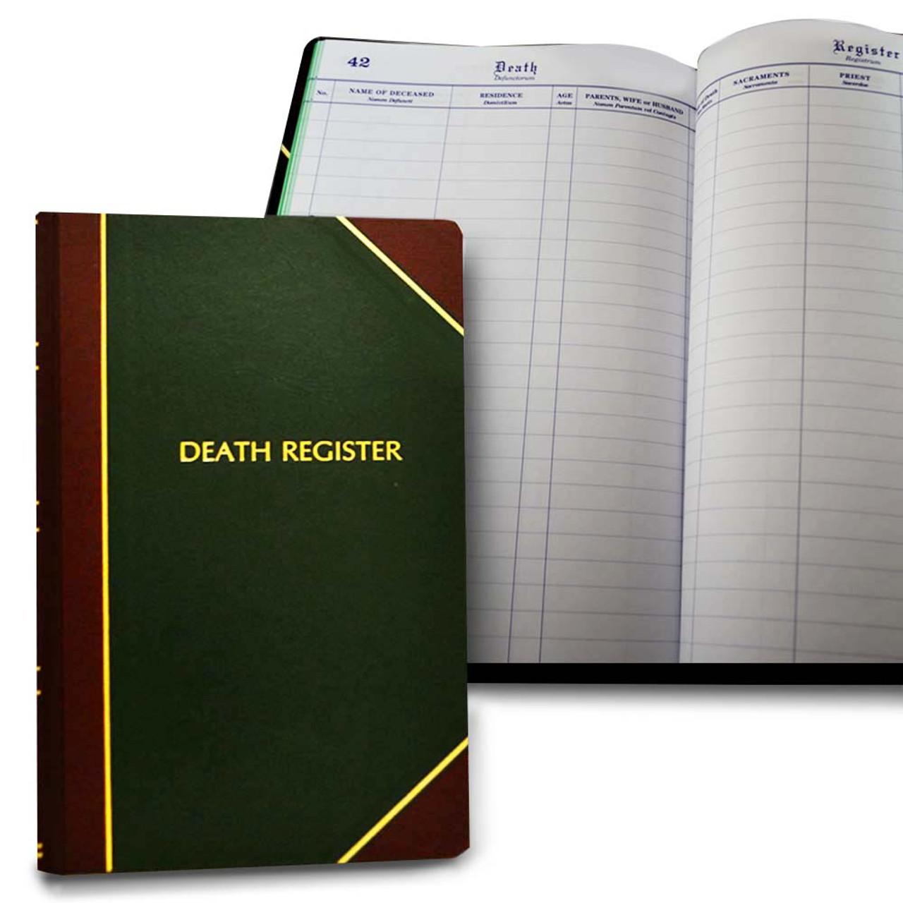 193 Death Register