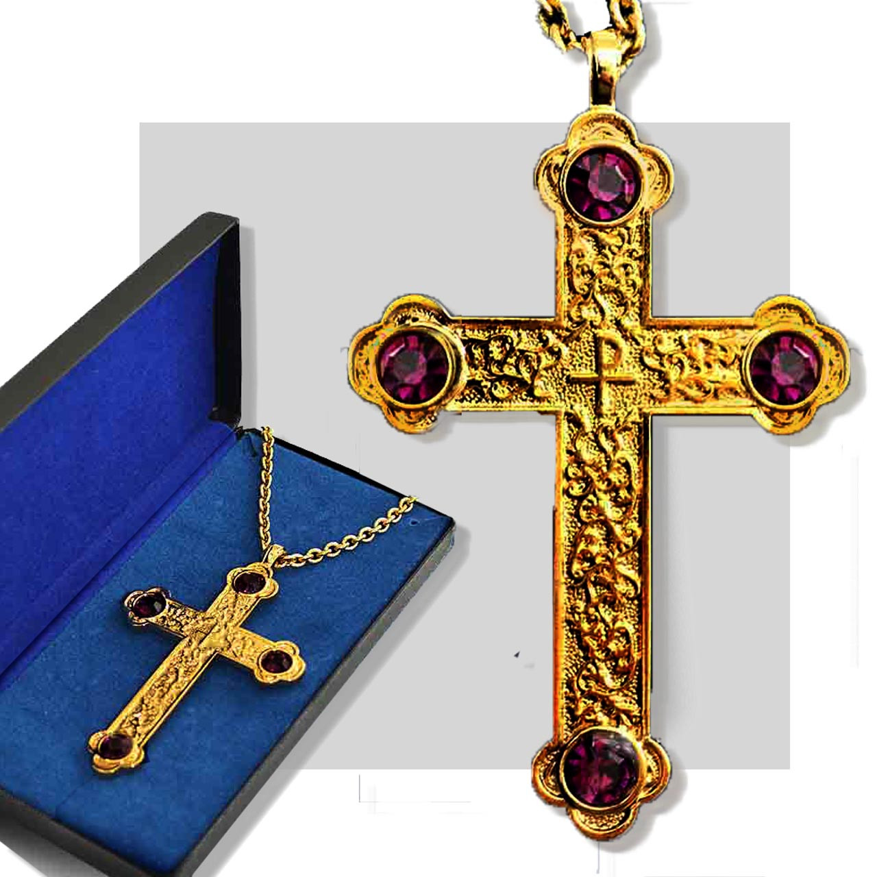 Gold Pectoral Cross