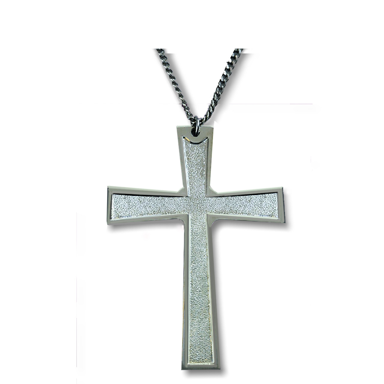 1597 Silver Pectoral Cross