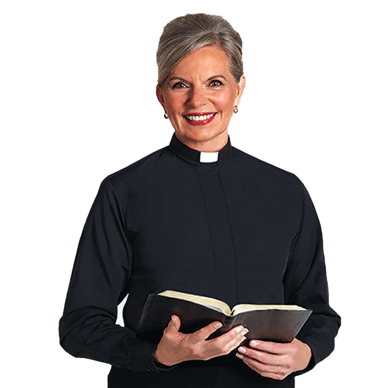 SW-104  Long Sleeve Clergy Blouse from Murphy Robe