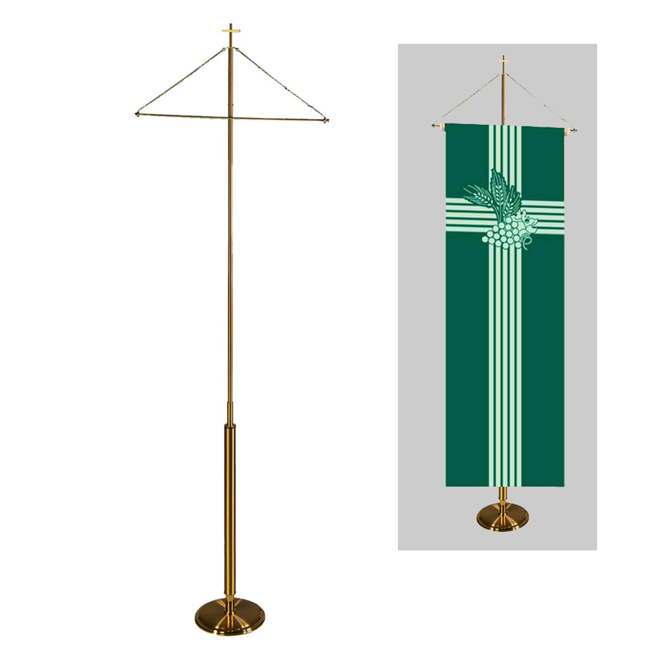 4293 8FT Banner Stand
