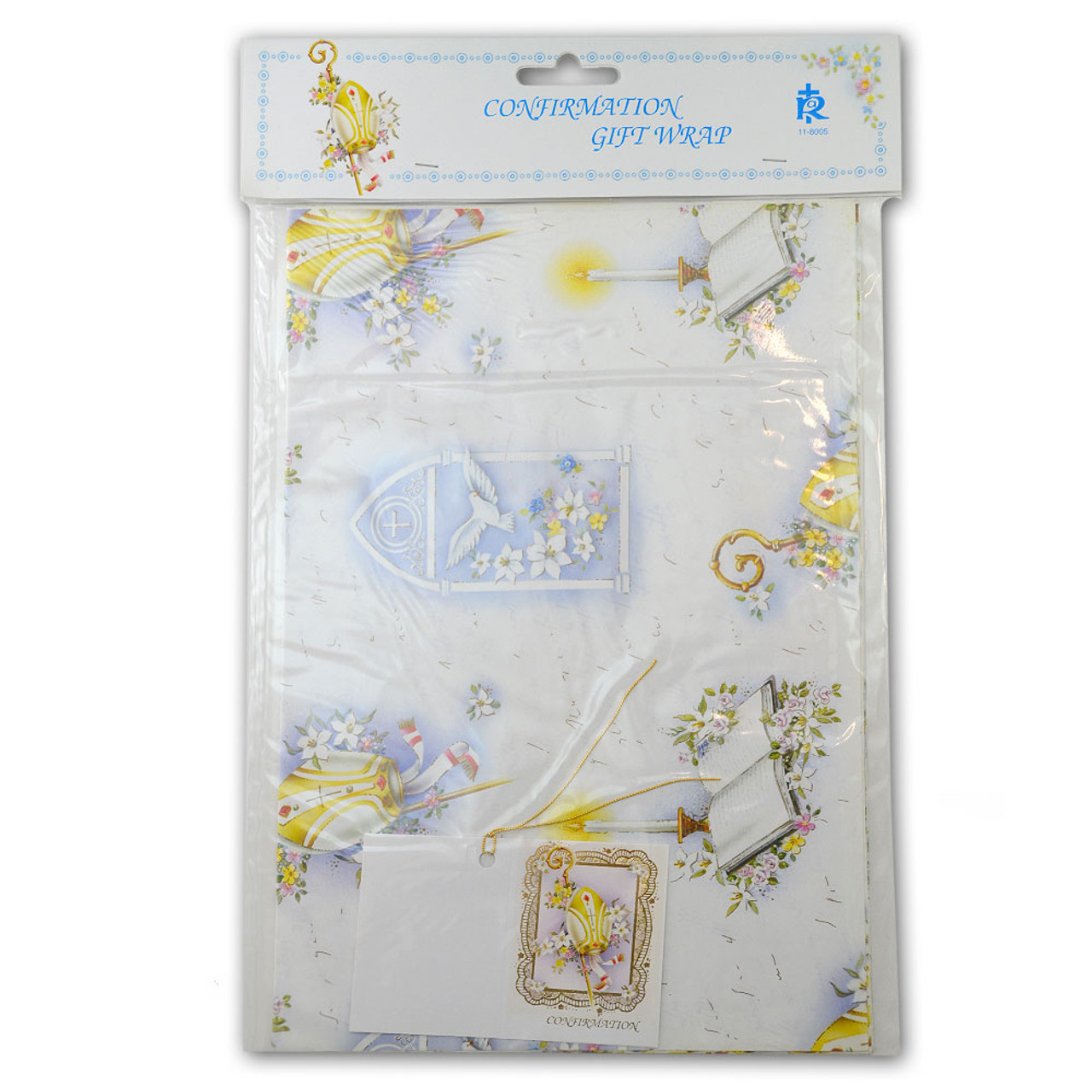 Confirmation Flat Gift Wrap