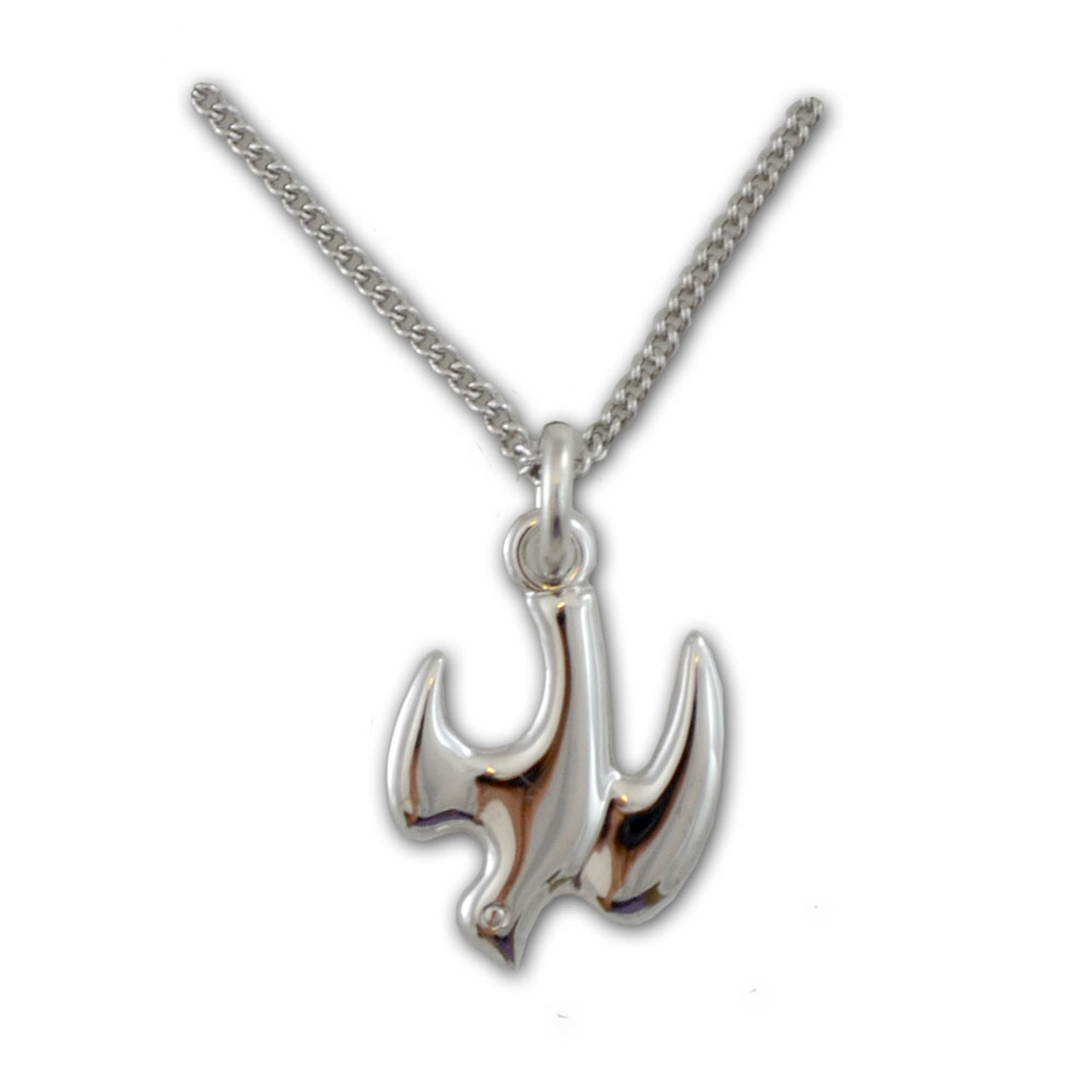 Sterling Silver Holy Spirit Dove Necklace for Children