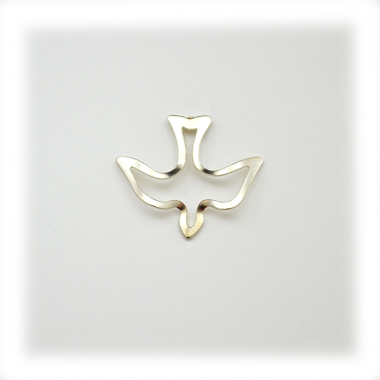 Silver Holy Spirit Dove Confirmation Pin