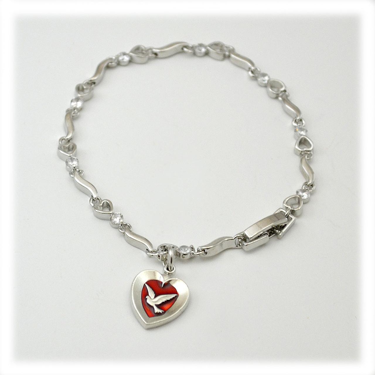 Holy Spirit Bracelet 7.5IN