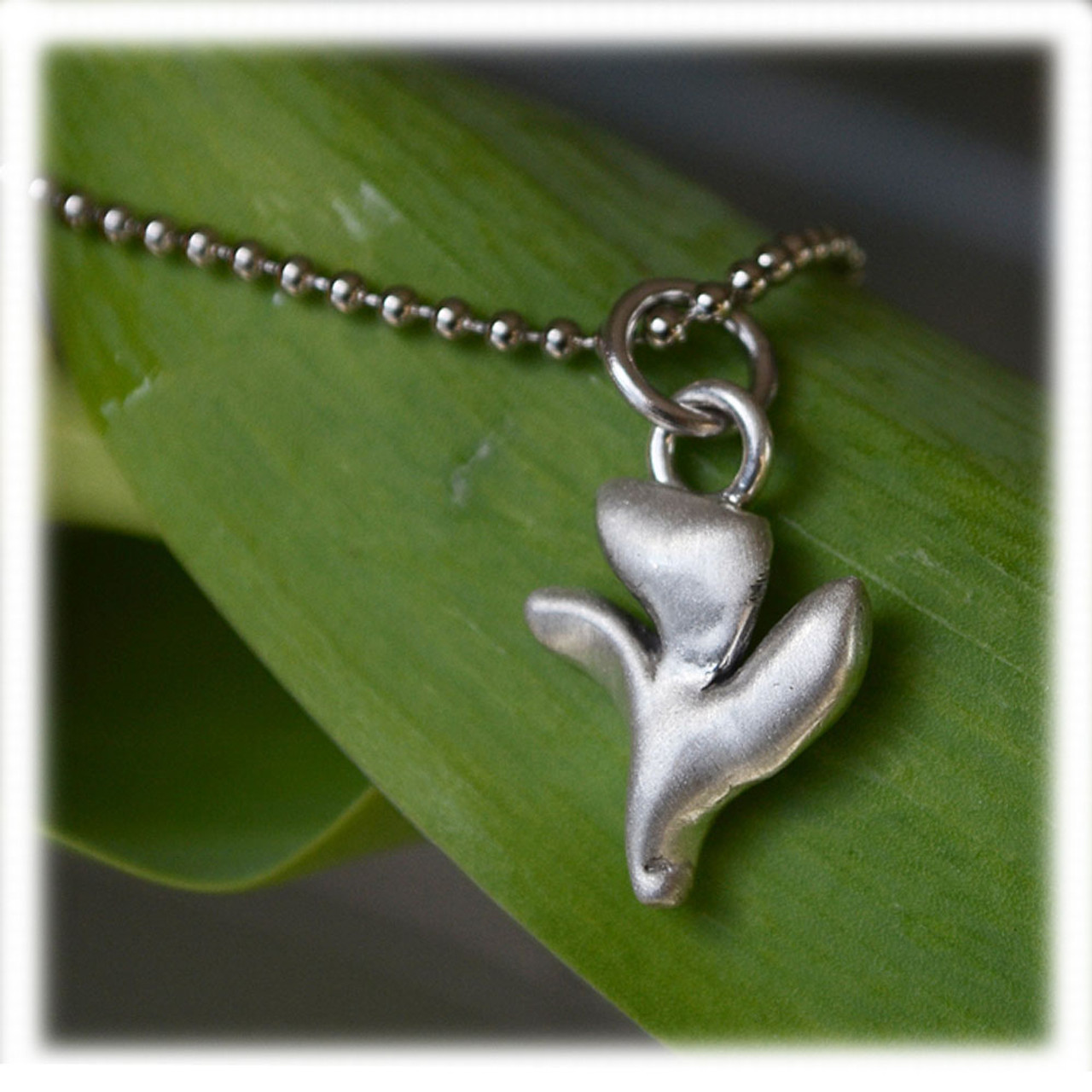 Holy Spirit Dove Necklace in Pewter