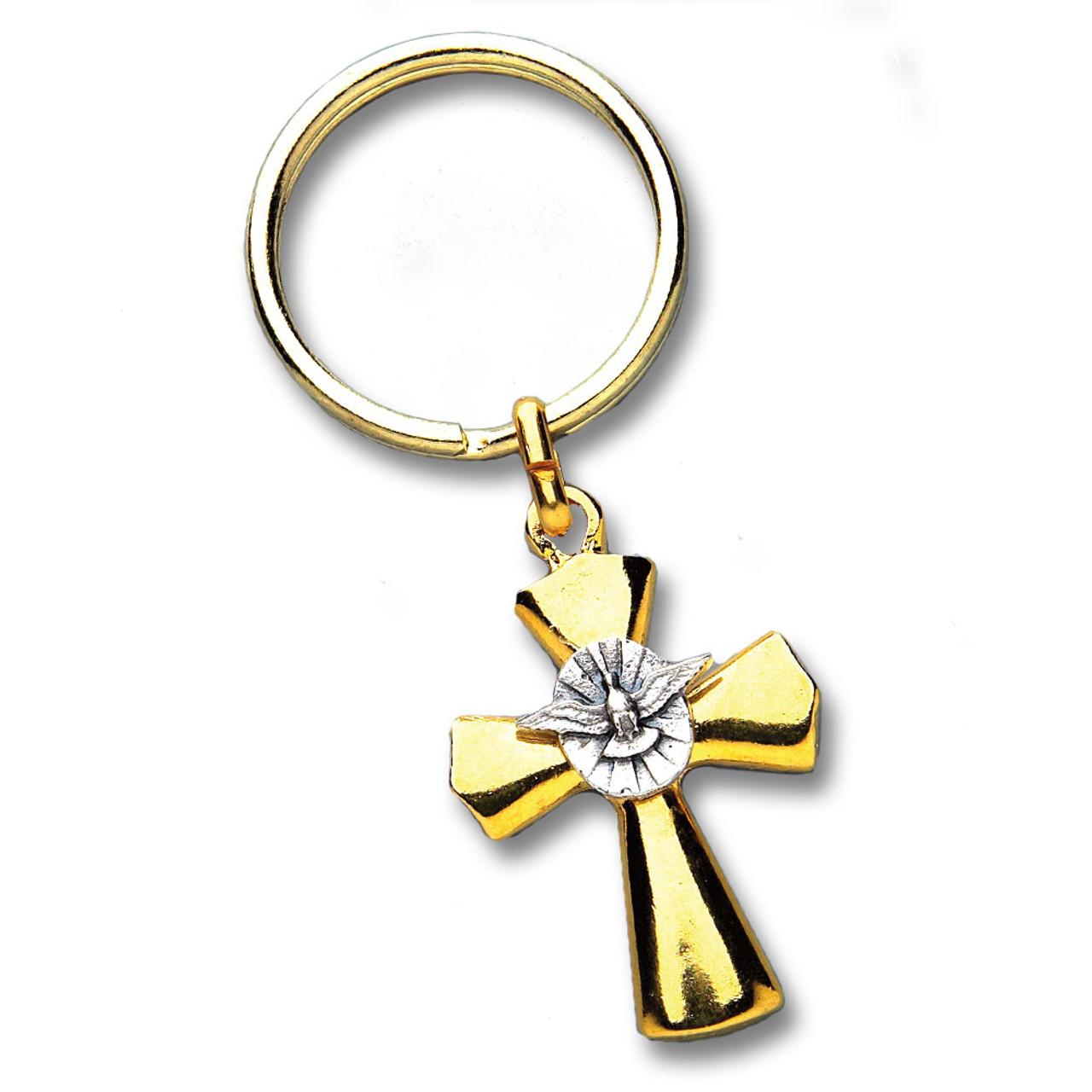 Holy Spirit Key Ring