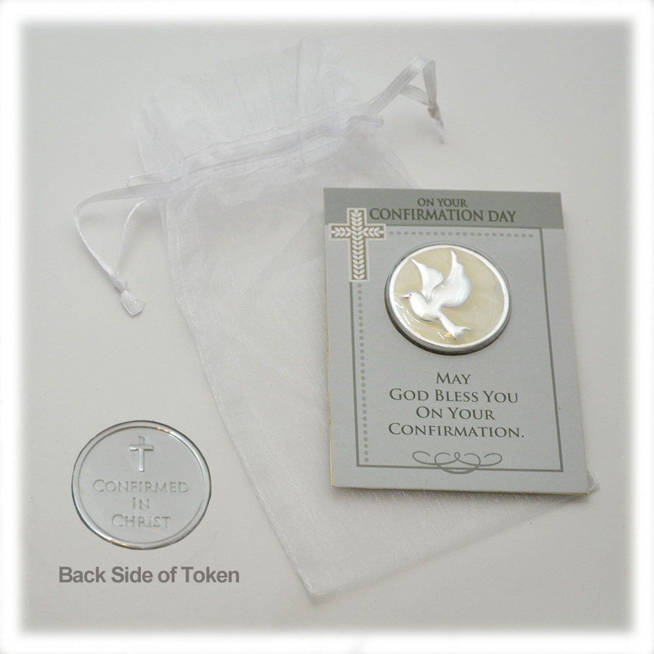 Confirmation Pocket Token and Gift Bag