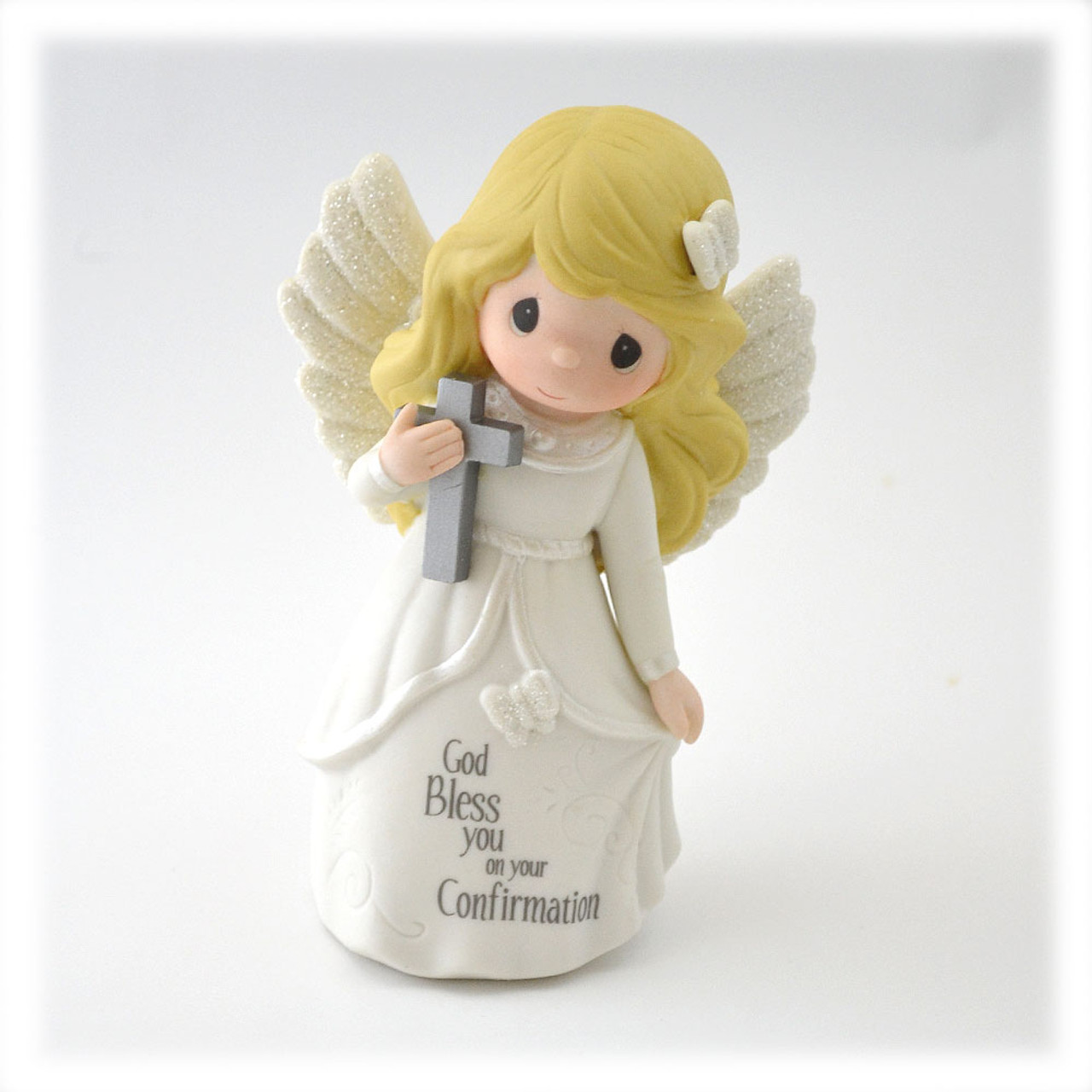 Precious Moments Confirmation Angel Statue