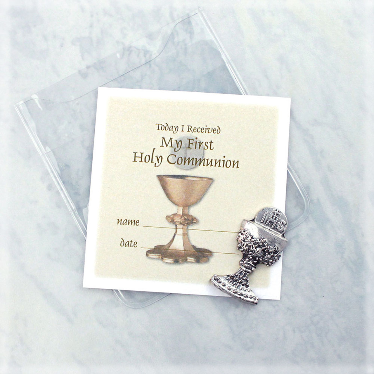 Inexpensive First Communion Chalice Charm