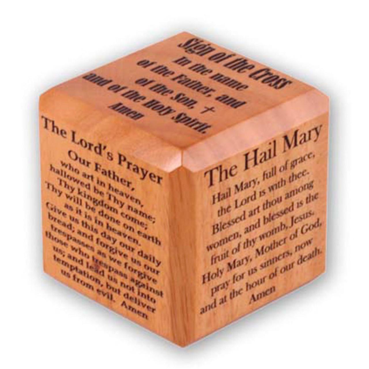 Prayer Cube Basic Prayers 2.5IN