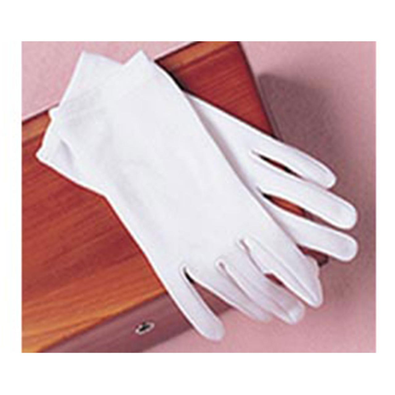 White First Communion Gloves