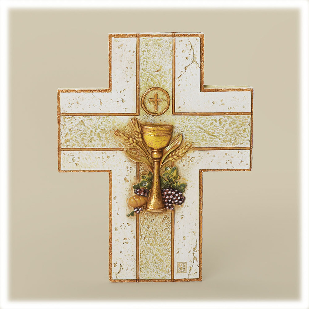 First Communion Wall Cross 7IN