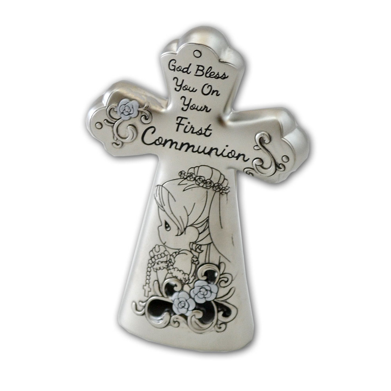 Precious Moments Girl Communion Cross