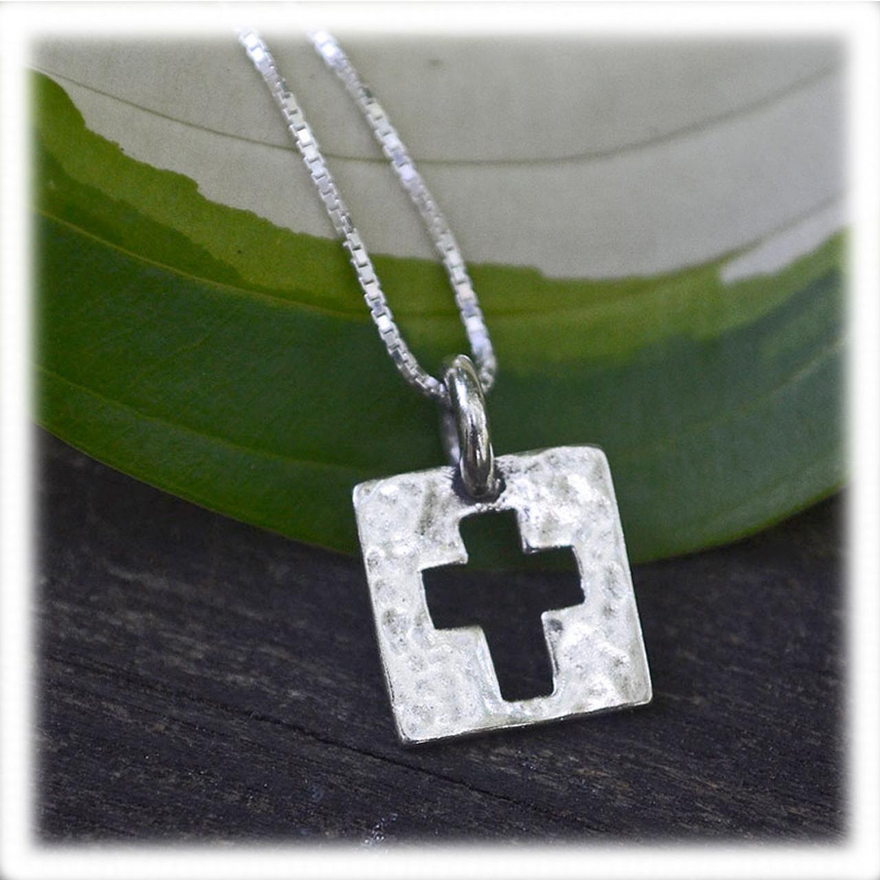 """Be Amazed by Grace"" Cross Necklace"