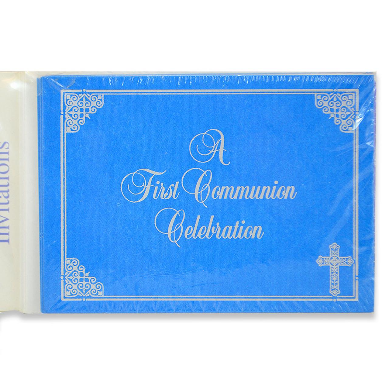 Communion Invitations 8/Pkg