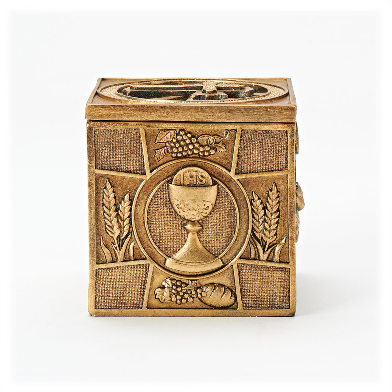 Multi Sacrament Keepsake Box 3-1/2IN
