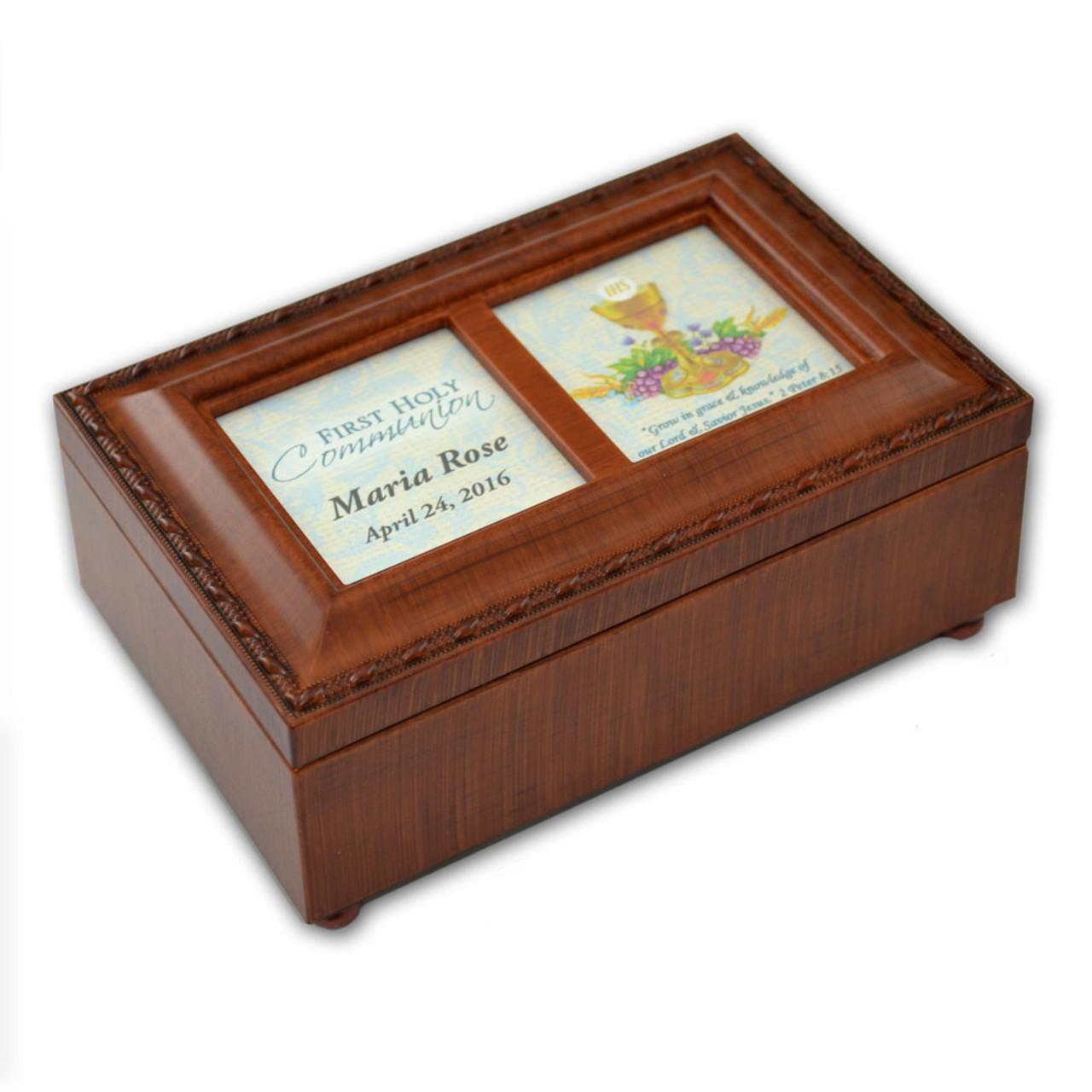 "Personal Girl Communion Music Box: ""Ave Maria"""