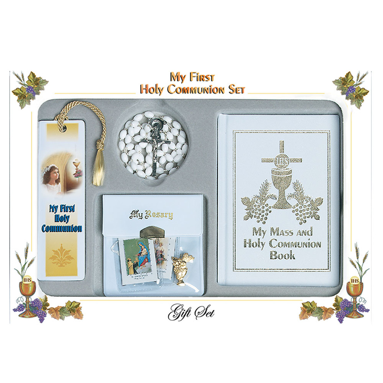 My First Holy Communion White Missal Set