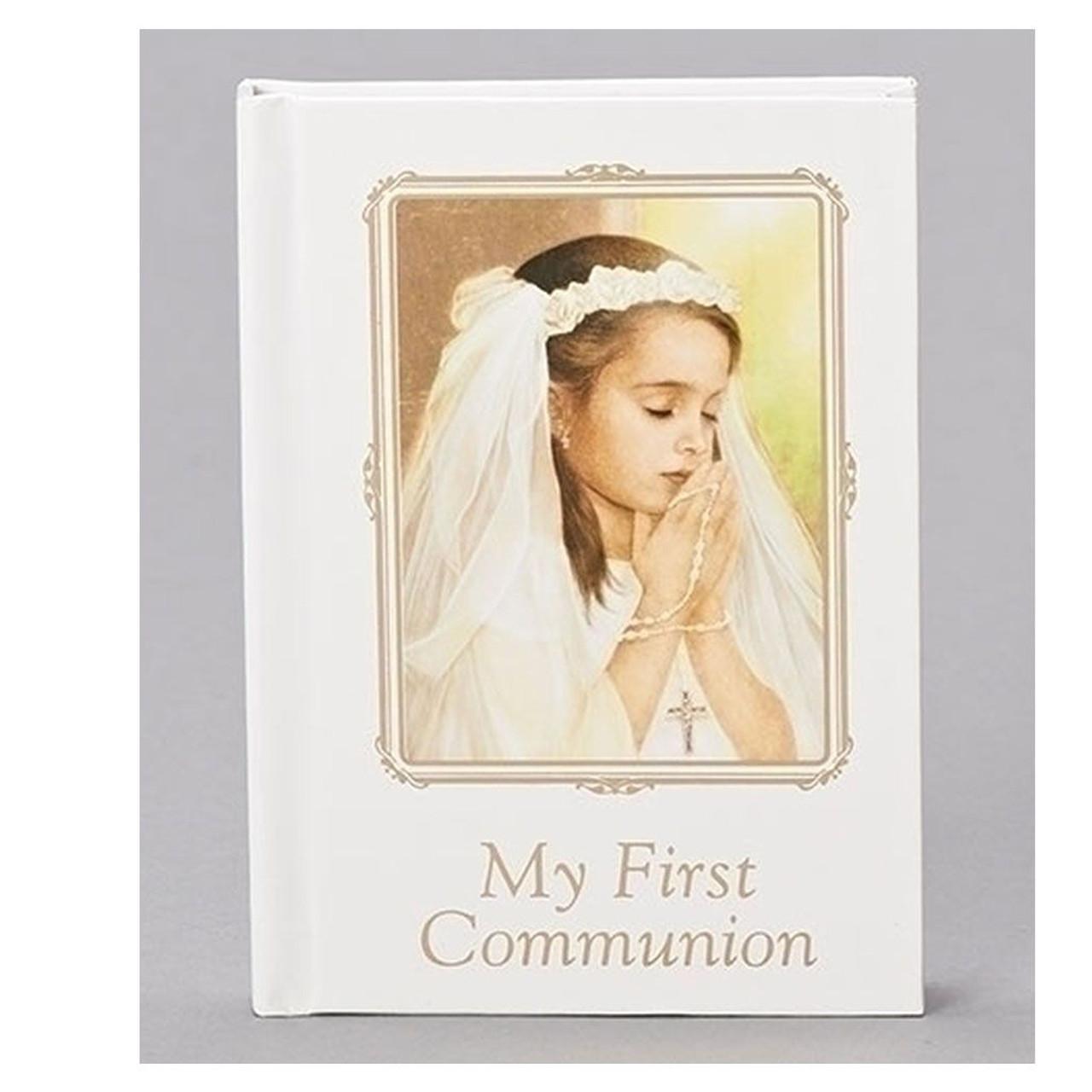Girl Communion Prayer Book Joseph Studio