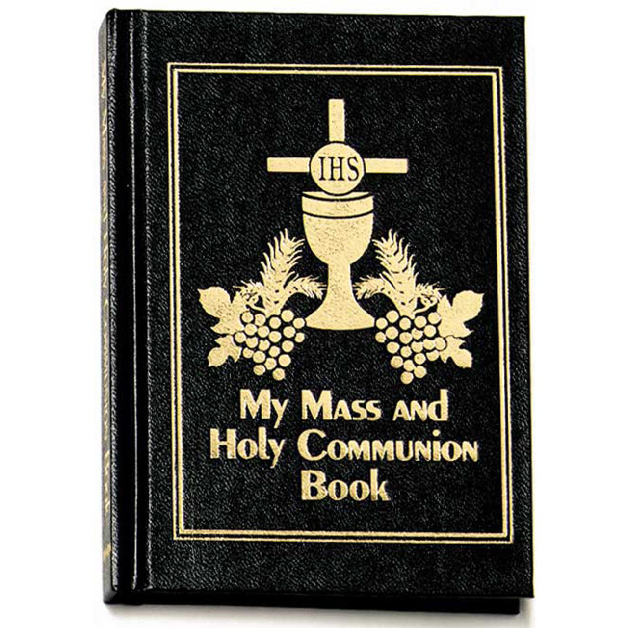 Mass and Holy Communion Missal Black