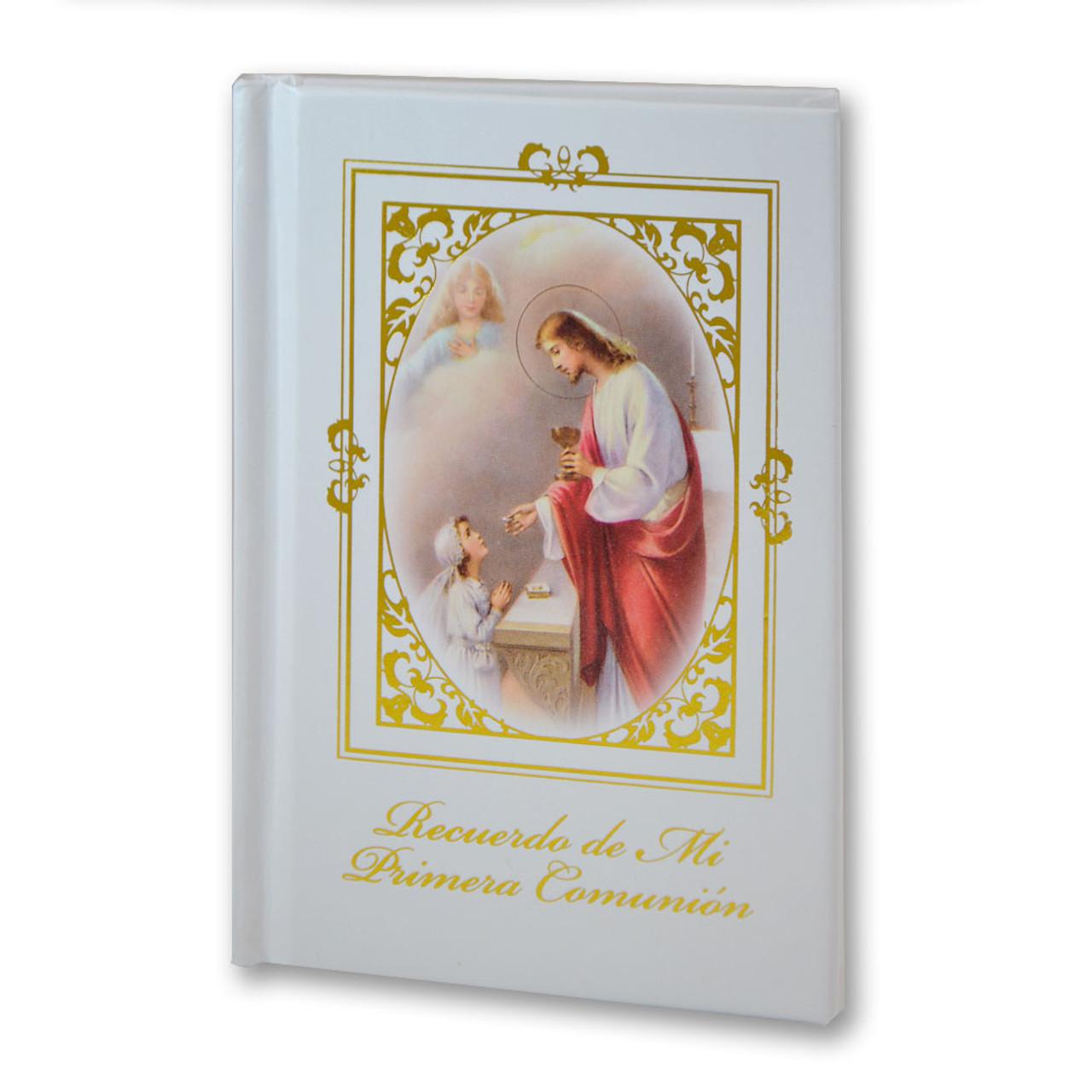 Girl's Spanish Hardcover First Communion Missal