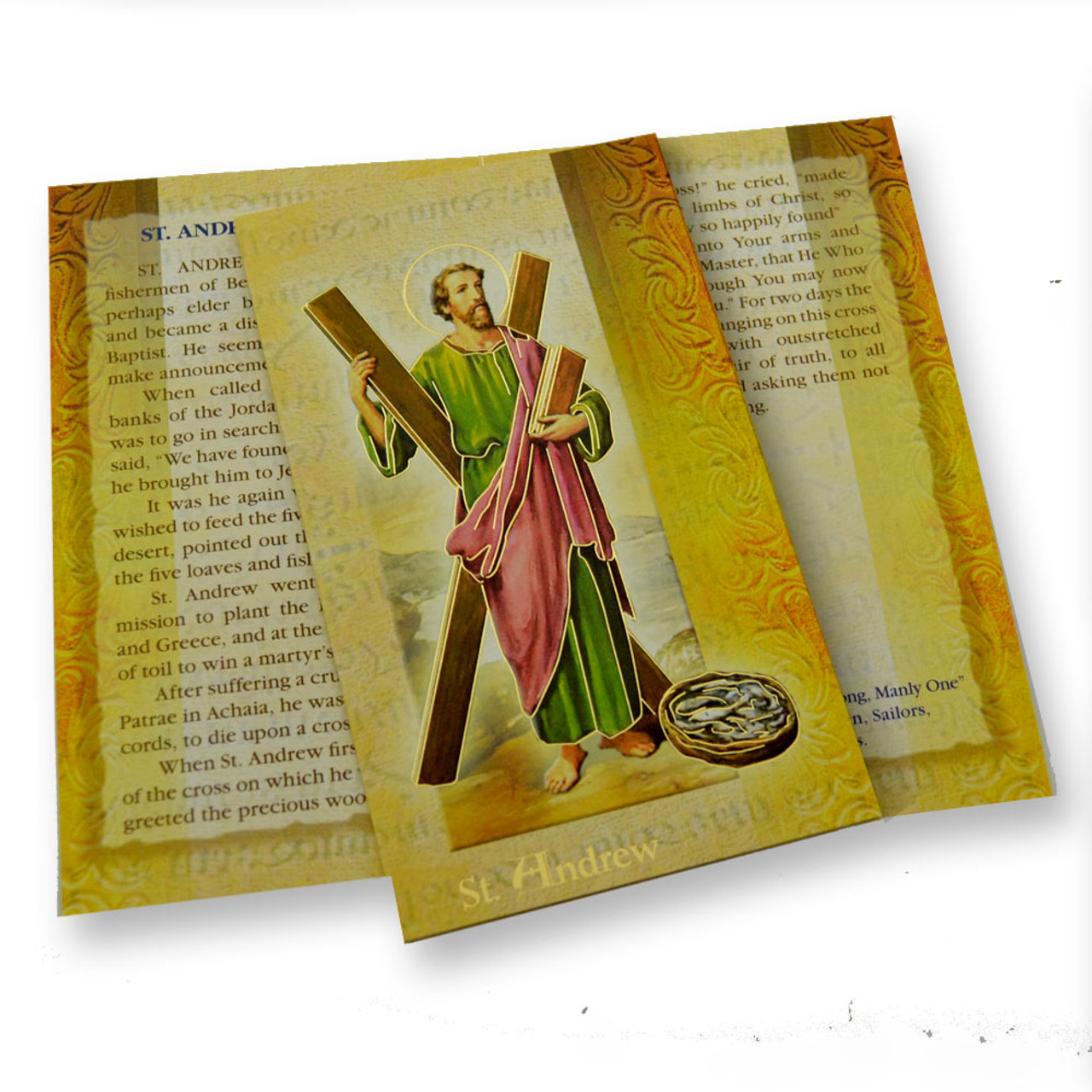 St. Andrew Folded Holy Card