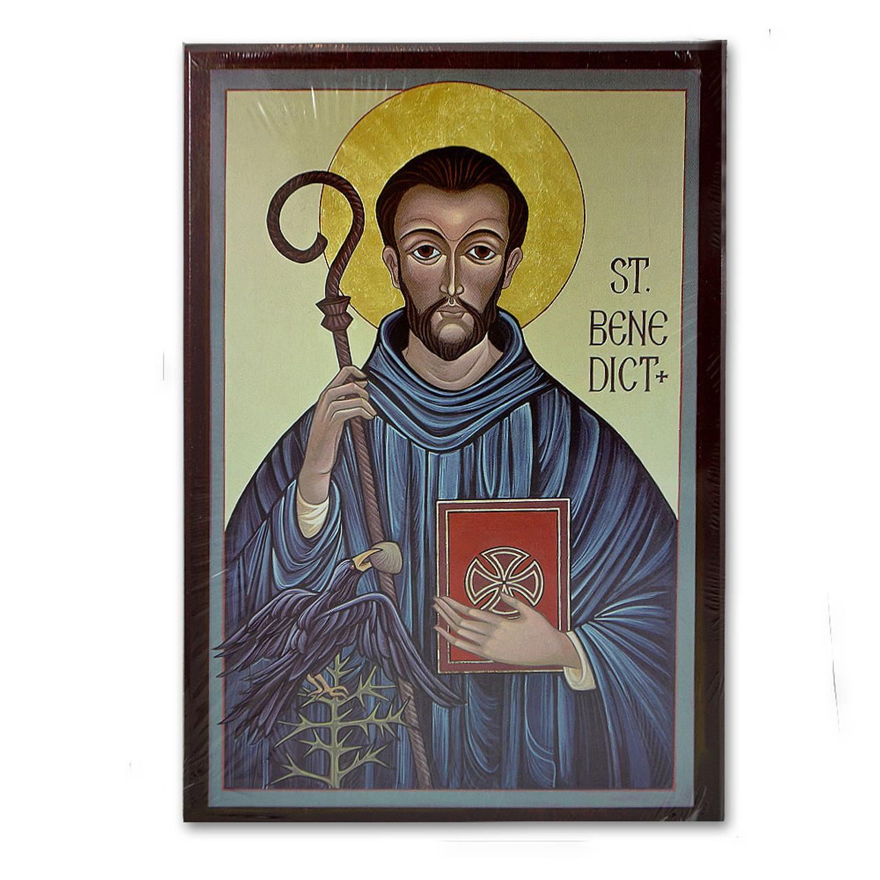 St Benedict Icon 6 X 9.6