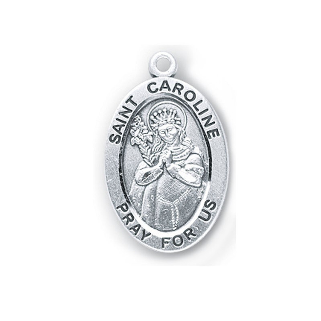 St. Caroline Medal Necklace