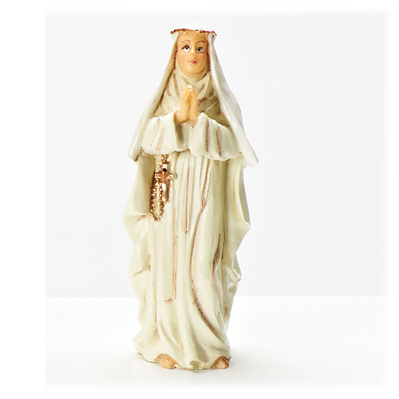 St Catherine 4 Inch Resin Statue