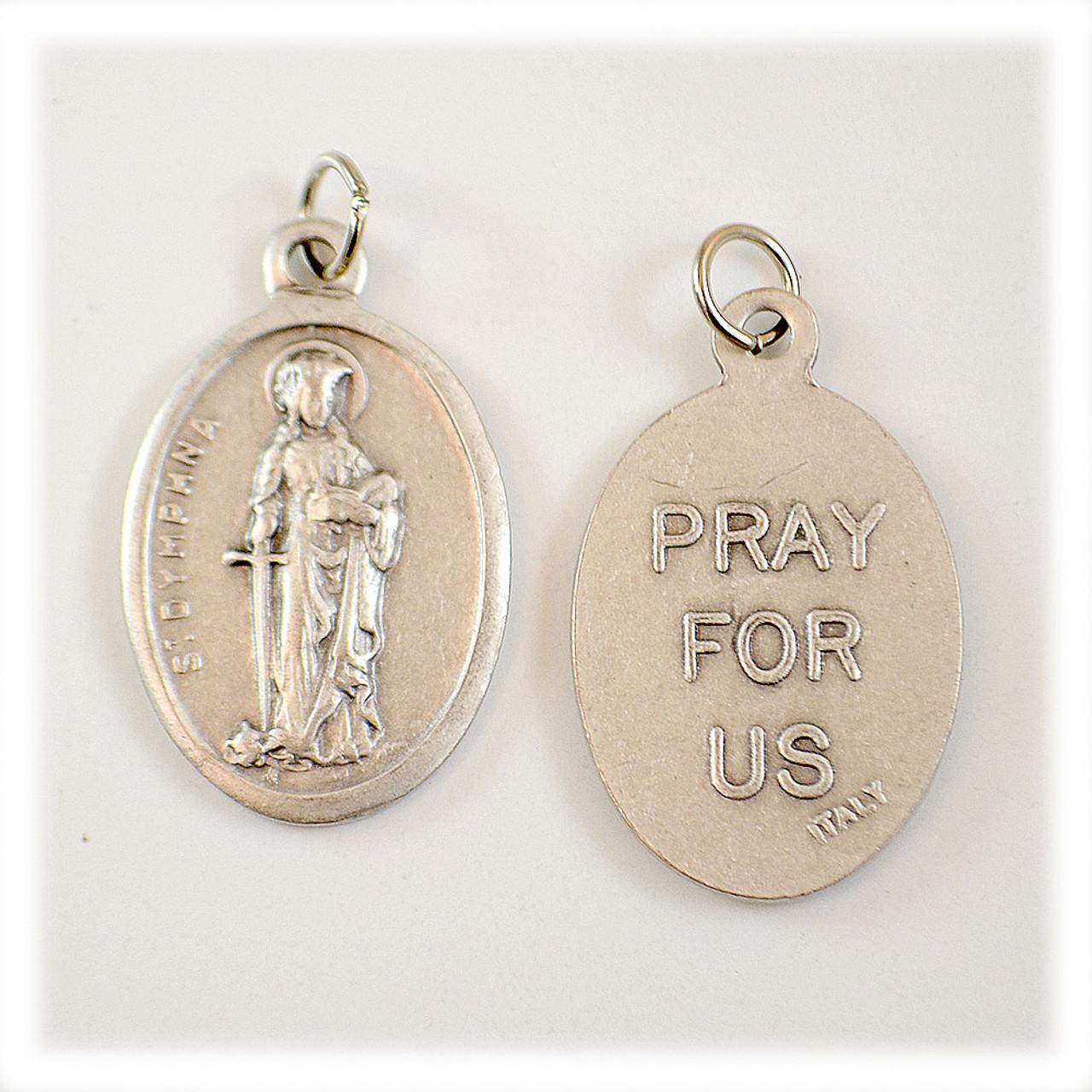 St. Dymphna Devotional Medal