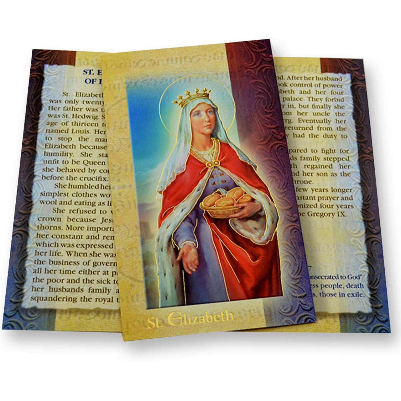 St Elizabeth of Hungary Mini Lives Bio Pamphlet