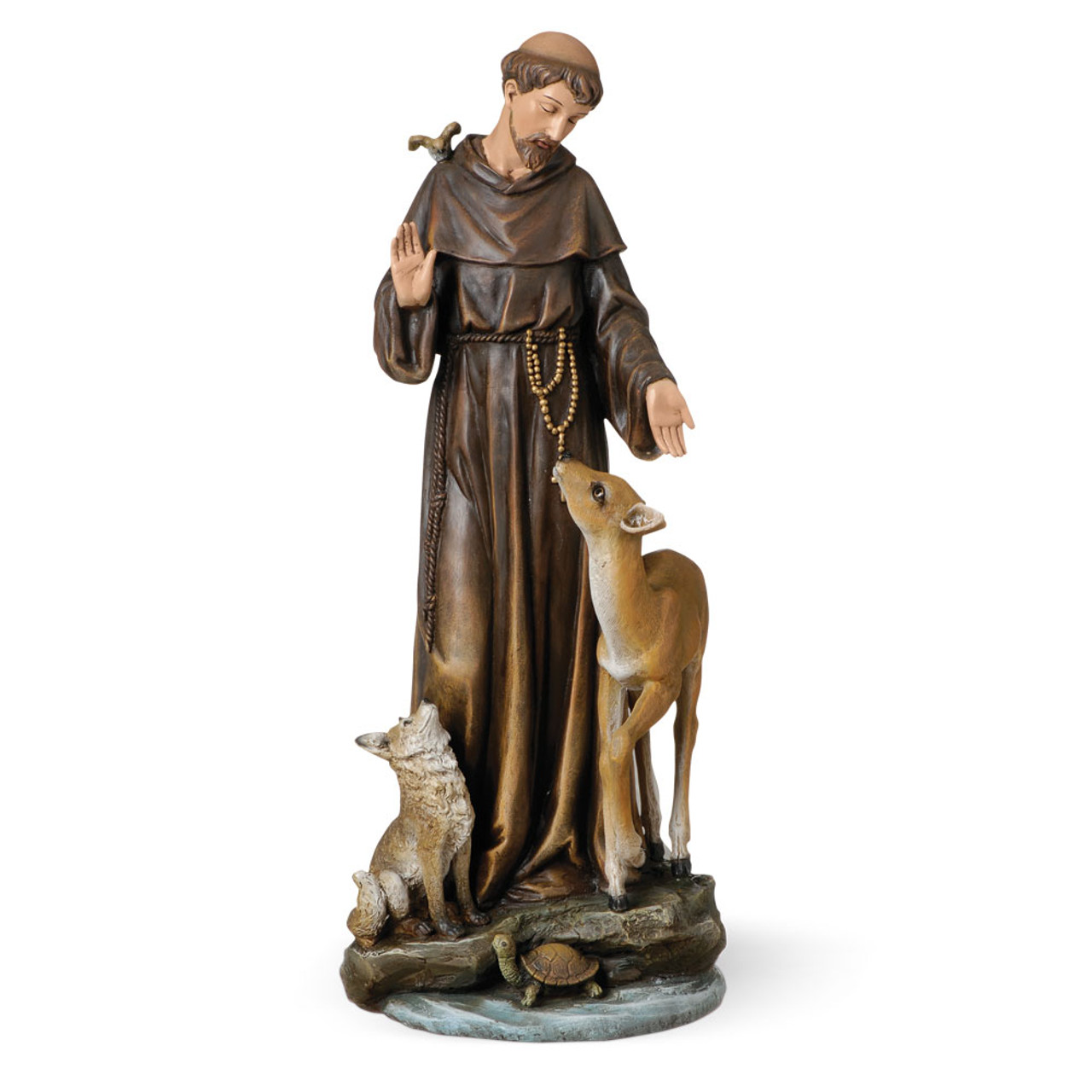 14 Inch St. Francis of Assisi Statue