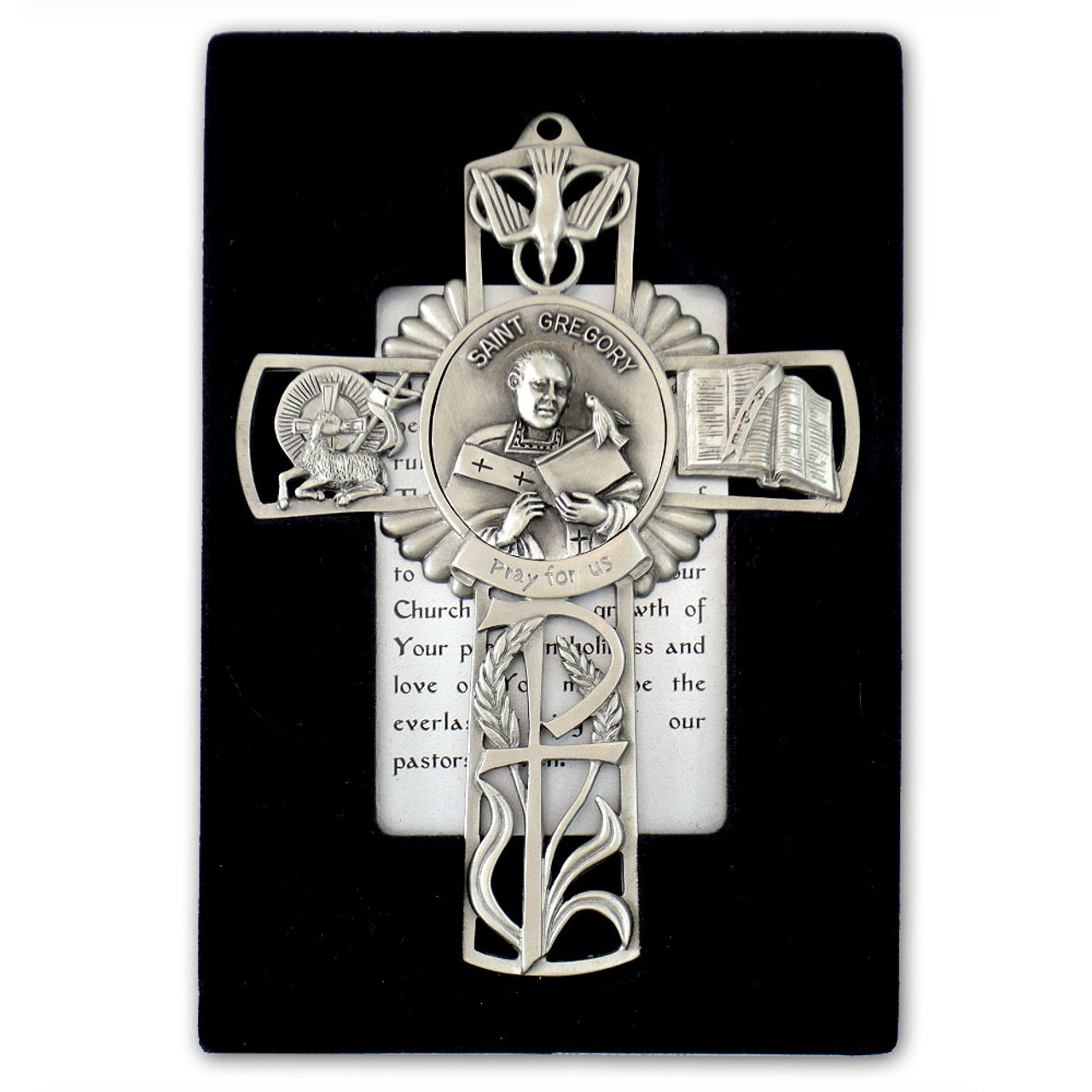 St Gregory Pewter Cross