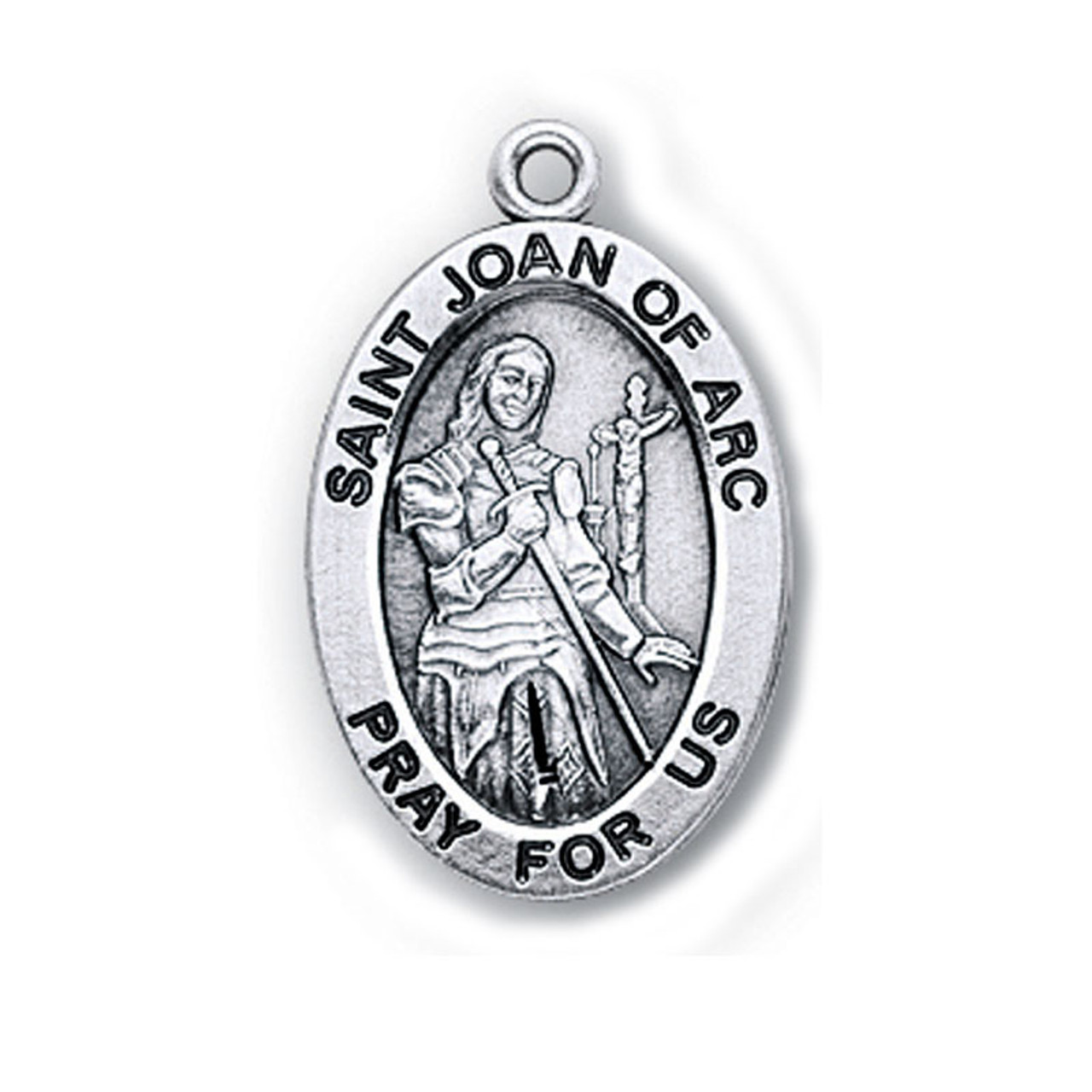 St. Joan of Arc Medal Necklace