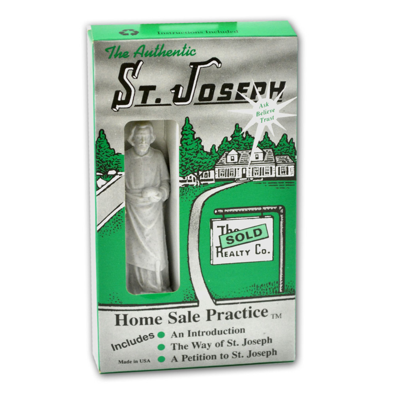 St. Joseph Home Seller's Kit with Statue