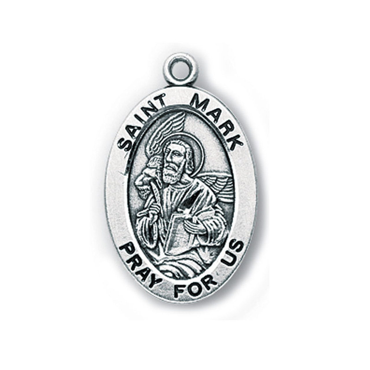 Small St. Mark Medal Necklace