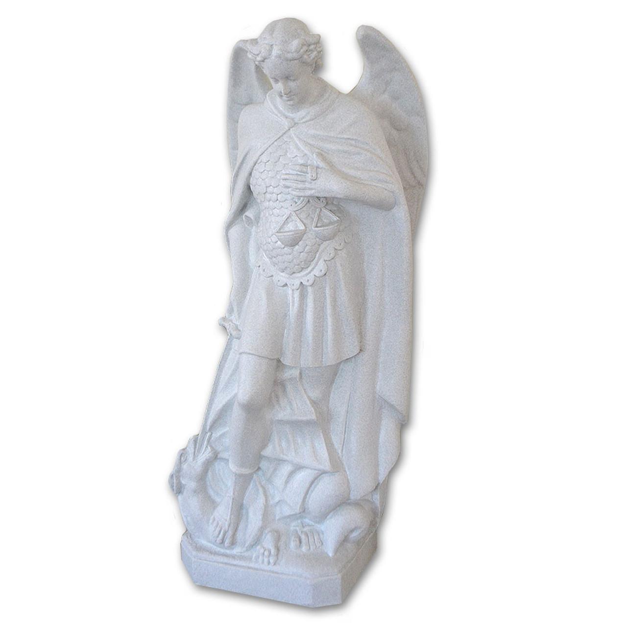 St. Michael Archangel Granite Finish Statue