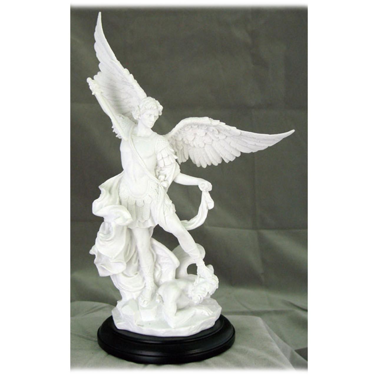 "10.5"" St. Michael Statue"