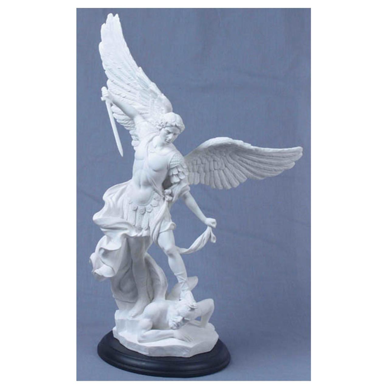 "15"" St. Michael Statue"